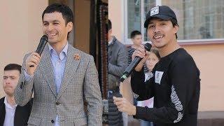 Vohidjon Isoqov hamda Nasafiy mehribonlik uyida konsert berdi