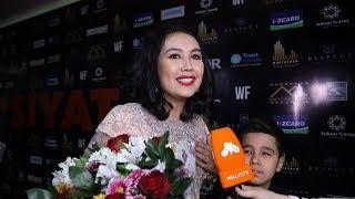 Dilnoza Kubayevaning 32 yoshga kirgani Vasiyat filmi premyerasida bayramga aylandi