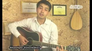 Shahriyor Ostonbekov Iltimos SUYANMANGIZ Jonli ijro