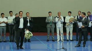 """""""Islomxo'ja"""" filmi premyerasida Ulug'bek Qodirov 3 bor sahnaga chiqishga majbur bo'ldi"""