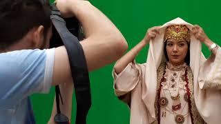 Shahzoda Matchonova tarixiy filmga kasting topshirdi. Eksklyuziv