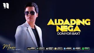 Doniyor Baxt - Aldading nega (audio 2021)