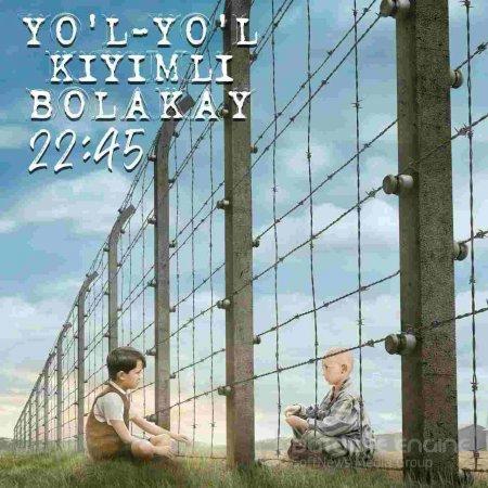 Yo'l-yo'l kiyimli bolakay uzbek tilida